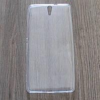 Чехол-крышка для Sony Xperia C5 Ultra Dual E5533 Прозрачный Silicon