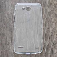 Чехол-крышка для Huawei Honor 3X G750D Прозрачный Silicon