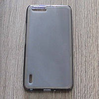 Чехол-крышка для Huawei Honor 6 Plus Чёрный Silicon