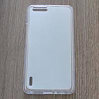Чехол-крышка для Huawei Honor 6 Plus Белый Silicon