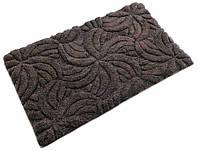Коврик для ванной 60х100 хлопок/люрекс STAR темно-коричневый