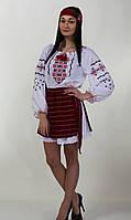 Жіночі вишиванки з довгим рукавом, батист