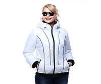 Куртка женская демисезонная,М-252 белая