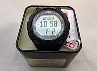 Часы мужские O.T.S. - 6210, стальной бокс, черный браслет, tough solar