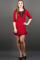 Красивое платье  КУРАЖ (бордовый) , фото 1