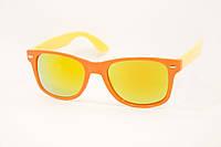 Очки детские солнцезащитные оранжевая оправа