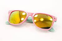 Очки детские солнцезащитные розовая оправа