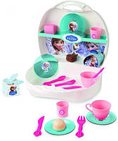 Посудка игрушечная в Чемодане Frozen Smoby 24096