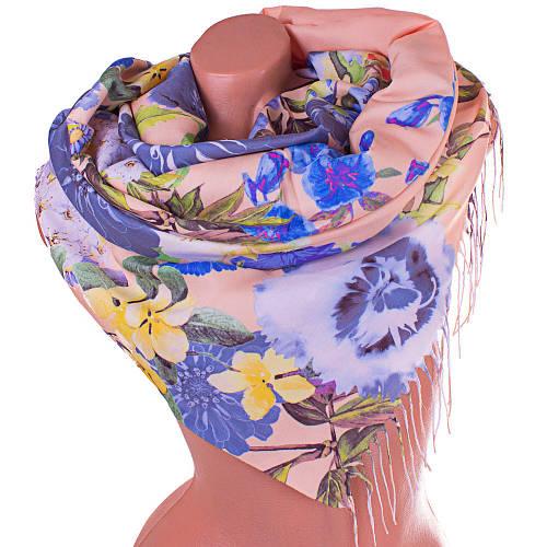 Освежающий женский хлопковый шарф 170 на 65 SOFTEL (СОФТЕЛ) SAT17433, бежевый