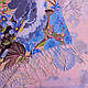 Освежающий женский хлопковый шарф 170 на 65 SOFTEL (СОФТЕЛ) SAT17433, бежевый, фото 3