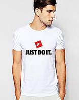 """Мужская футболка Найк джаст до ит """"Nike Just Do It"""""""