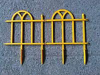 Пластиковая оградка