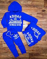 Костюм   спортивный Adidas на мальчика Оригинал 1949, синий
