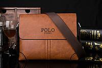 Деловая мужская сумка POLO. Модная, стильная сумка. Удобная, практичная, износостойкая сумка. Код: КН6