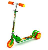 3-х колесный металический самокат для ребенка.