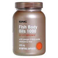 Рыбий жир омега 3 Fish Body Oils 1000 (180 softgels)