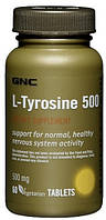 Л-тирозин L-Tyrosine 500 mg (60 veg cap)