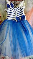 Детское праздничное платье (нарядное, новогоднее)  7-8 лет