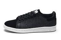 Кроссовки женские Adidas Stan Smith Original Black черного цвета оригинал