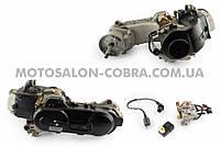 """Двигатель   4T GY6 80cc   (139QMA, длинный)   (12"""" колесо, карбюратор, коммутатор, катушка зажигания)   """"SL"""""""