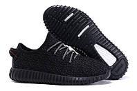 Кроссовки женские Adidas Yeezy Boost 350 Black Panter беговые оригинал