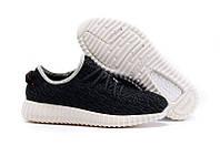 Кроссовки женские Adidas Yeezy Boost 350 Low Black White беговые оригинал
