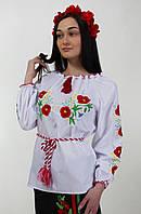 Оригинальная женская вышиванка, хлопок, норма и баталл