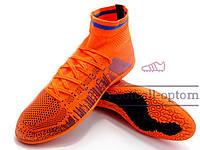 Сороконожки (многошиповки, бампы) Difeno orange с носком