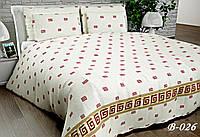 Полуторное постельное белье Тет-А-Тет В-026 бязь