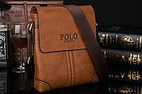 Удобная мужская сумка POLO. Модная, стильная сумка. Деловая, практичная, износостойкая сумка. Код: КН8