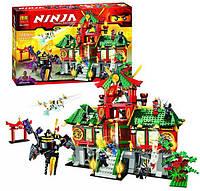 """Конструктор Bela аналог LEGO Ninjago 70728 """"Битва за Ниндзяго Сити"""" 1223 деталей 9797"""