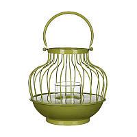 Декоративный фонарик для сада Greenware, зеленый