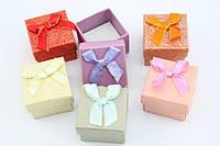 Маленькие стильные подарочные коробочки для бижутерии 5х5 см (с паролоном)