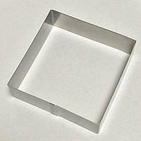 Форма(квадрат) для выпечки высота 5см,  18х18см (код 04880)