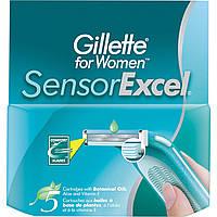 Картридж для бритья Gillette Sensor Excel для женщин 5 шт.