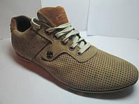Туфли мужские бежевые летние спортивного стиля 40-45