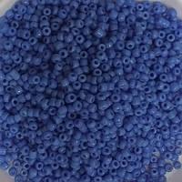 Бисер № 043В/10 лавандовый-синий, непрозрачный- Корея