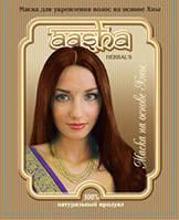 Маска для укрепления волос и против перхоти на основе индийской хны AASHA Herbals, Ааша Хербалз, Аюрведа Здесь!