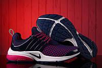 Кроссовки женские Nike Air Presto Flyknit Weaving Purple беговые оригинал