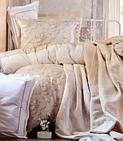 Постельное белье с пледом и покрывалом  TIMELESS TOPRAK от KARACA HOME