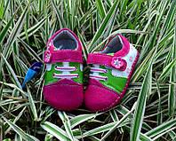 Обувь для детей кожаные топики пинетки на девочку 15-19р
