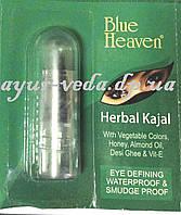 Каджал Гербал 1,25 грм., Kajal Herbal, Сурьма для глаз, Blue Heaven, Аюрведа Здесь