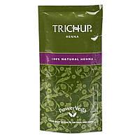 Натуральная хна для волос и мехенди Васу Тричуп, Vasu Trichup Natural Henna Powder, Аюрведа Здесь