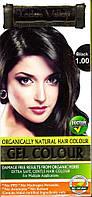 Краска-гель Долина Инда натуральная, Чёрный (250 грм), Gel Hair Colour Black 1.0, Indus Valley, Аюрведа Здесь
