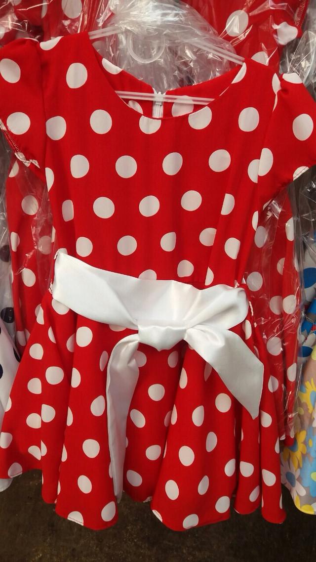 Купить Красное Платье В Горошек Для Девочки