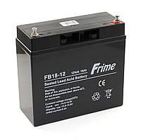 Аккумулятор Frime 12V / 18Ah для детских электромобилей и ИБП