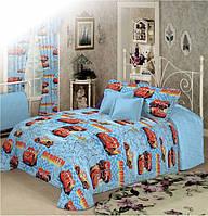Детское постельное белье для мальчиков Молния Маквин, бязь (хлопок 100%)