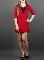 """Нарядное платье для девушек """"Кураж бордо"""", размеры от 46 по 50"""