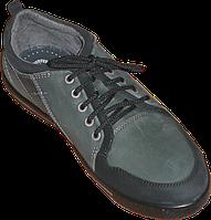 Мужские туфли из натурального нубука