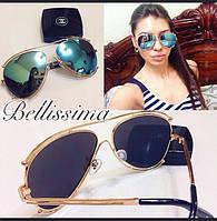 Модные солнцезащитные очки - капельки с разными расцветками линз s-4316174